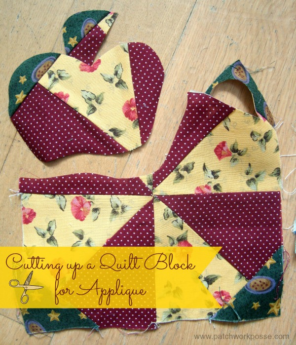 Applique With Becky From Patchwork Posse National Sewing Month 2013