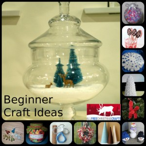 Easy Christmas Crafts Beginner Craft Ideas