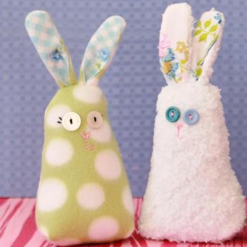 Fluffy Fleece Bunny
