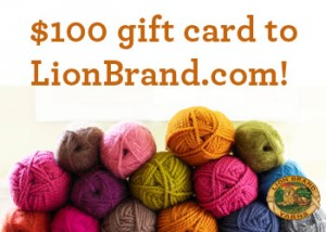 Lion Brand Yarn Giveaway