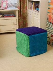 Sea Breeze Ottoman Cover 226x300 15 Knit and Crochet Patterns for Your Home