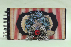 Vintage Wreath Holiday Planner