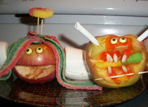 Apple Candy Monsters