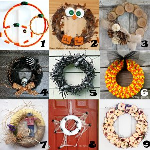 link love fall wreaths Link Love: Homemade Wreaths for Fall