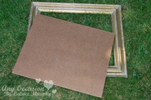 vintage1 300x199 Save That Fancy Frame For This DIY Decor Project