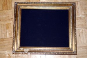 vintage3 300x199 Save That Fancy Frame For This DIY Decor Project