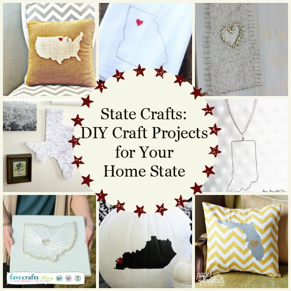 State Crafts Diy Craft Projects For Your Home State Favecrafts