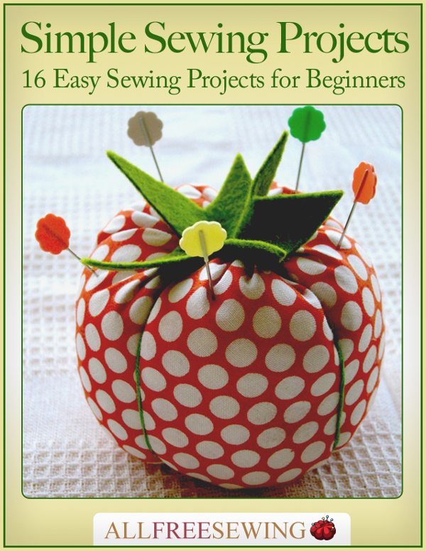 16 Simple Hairstyles For Long Hair: Simple Sewing Projects: 16 Easy Sewing Projects For