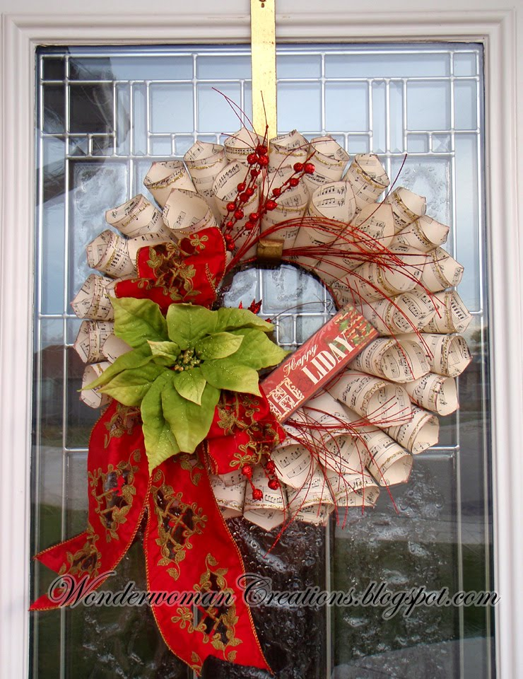 Decorate Your Door With A Diy Wreath This Christmas