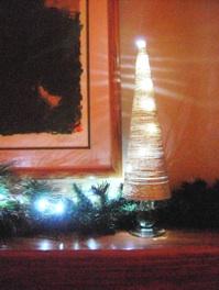 Lighted Cone Tree
