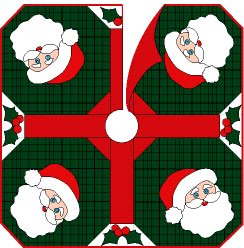 Ho Ho Ho Tree Skirt