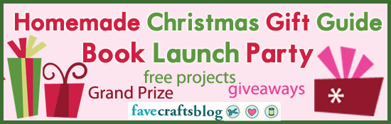 Homemade Christmas Gift Ideas Book Launch