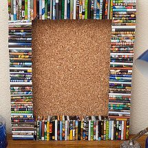 Recycled-Magazine-Cork-Board