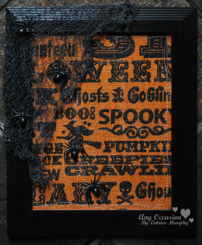 halloween frame1 Halloween How To: Boo tiful Framed Art