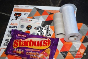 halloween1 300x200 Make a Toilet Paper Roll Treat Holder for Halloween
