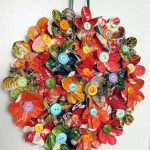 magazine-wreath