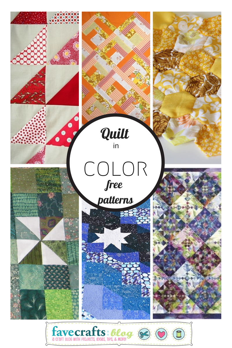 quilt in color free quilt patterns Quilting Color Pop: Finding the Perfect Free Quilt Pattern in Any Color