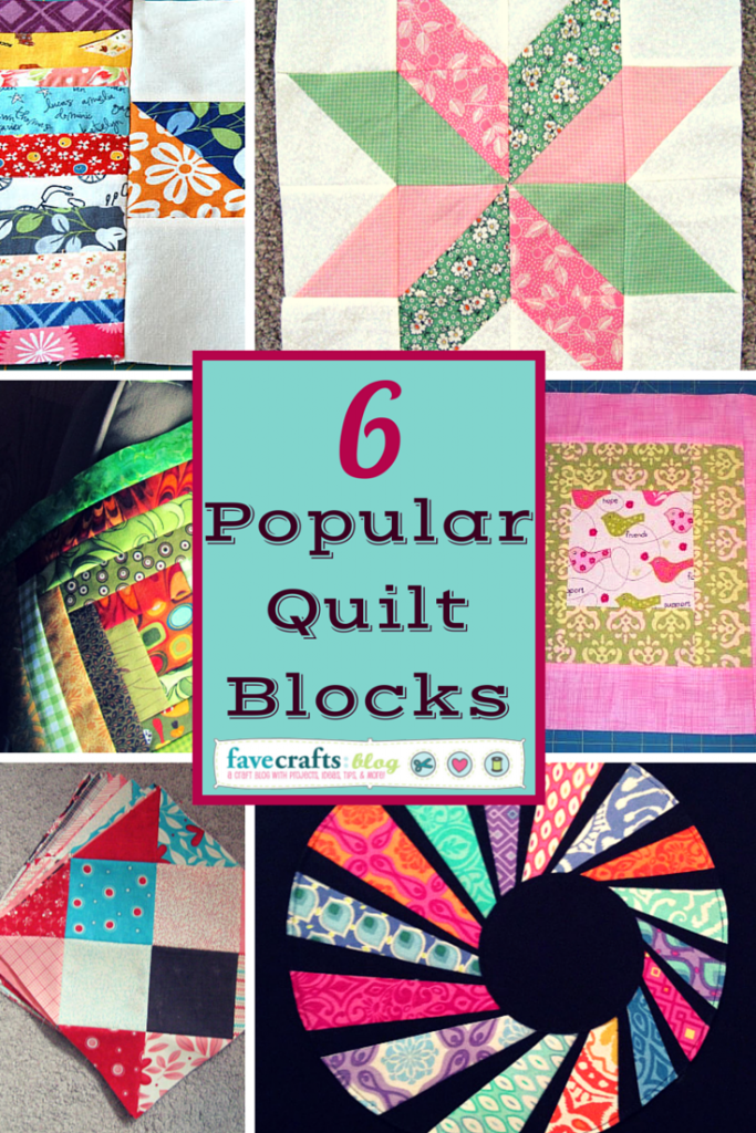 Quilt Block Party 6 Popular Quilt Block Patterns Favecrafts