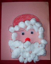 Fluffy Beard Santa