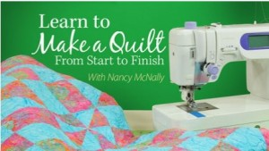 Annie's Quilting Class