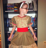 Little Miss Gingerbread Dress