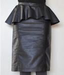 Snap Peplum Skirt