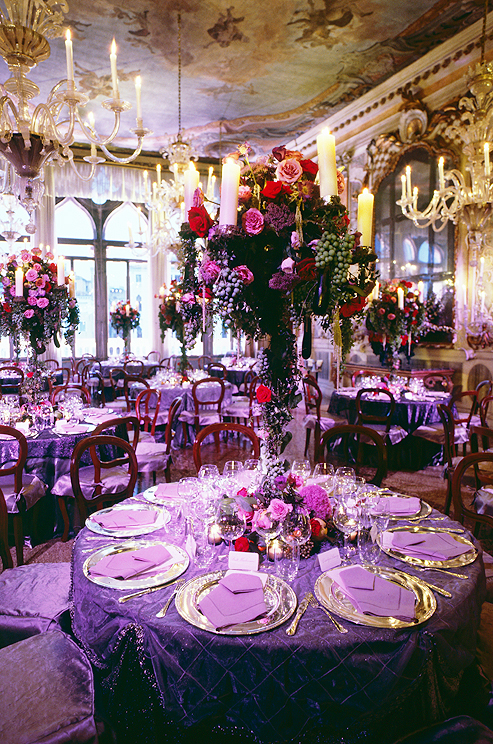 Purple and Red Reception