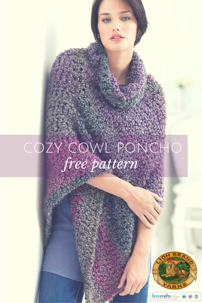 COZY COWL PONCHO 682x1024 Crochet a Winter Cowl: 12 Days of Christmas Giveaway