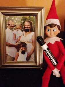 Elf on a Shelf Draws on Photos