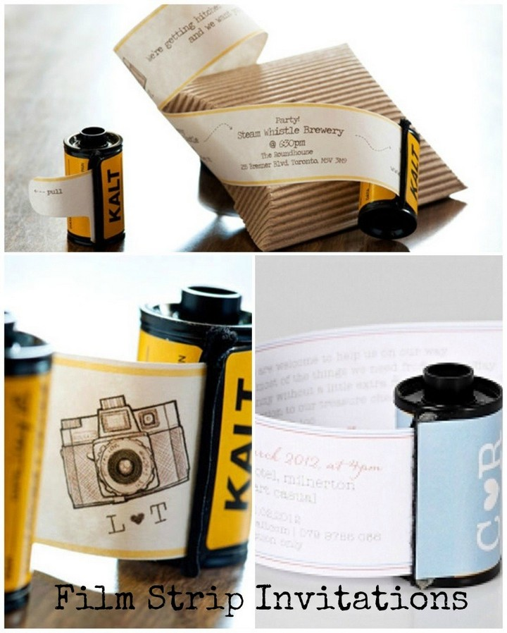 Film-Strip-Invitations