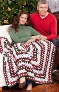 Holiday Throw350 192x300 Get a Head Start on those Crochet Christmas Gifts!