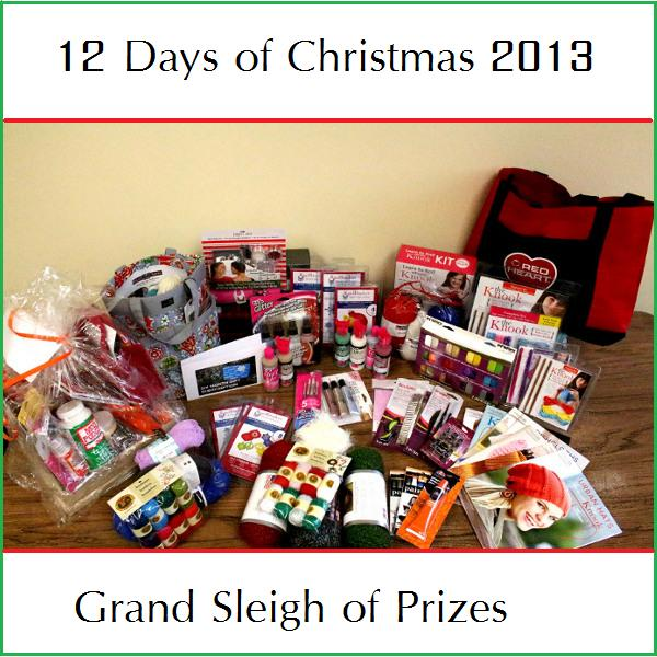 12 Days of Christmas - Sleigh of Prizes