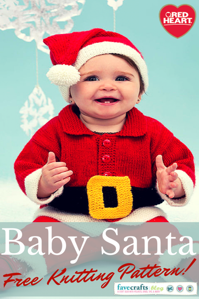 baby santa suit free knitting pattern 682x1024 Knit a Baby Santa Suit: 12 Days of Christmas Giveaway