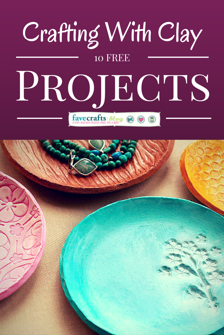 crafting with clay free projects 10 Clay Projects I Love