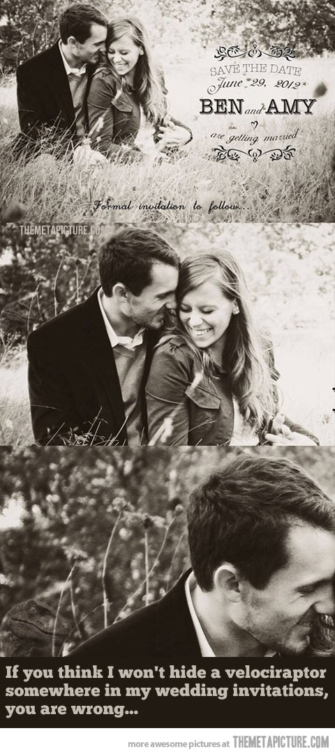 funny-wedding-photos-dinosaur-sepia