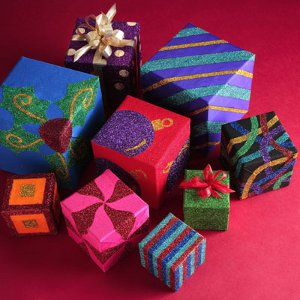 Glorious Glitter Gift Boxes