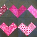 Heart Embers Quilt Block