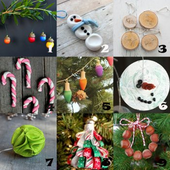 link love ornaments Link Love: Easy Christmas Ornament Crafts