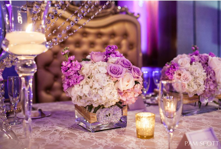 pam scott 17 Ways to Make Radiant Orchid Happen in Your Wedding
