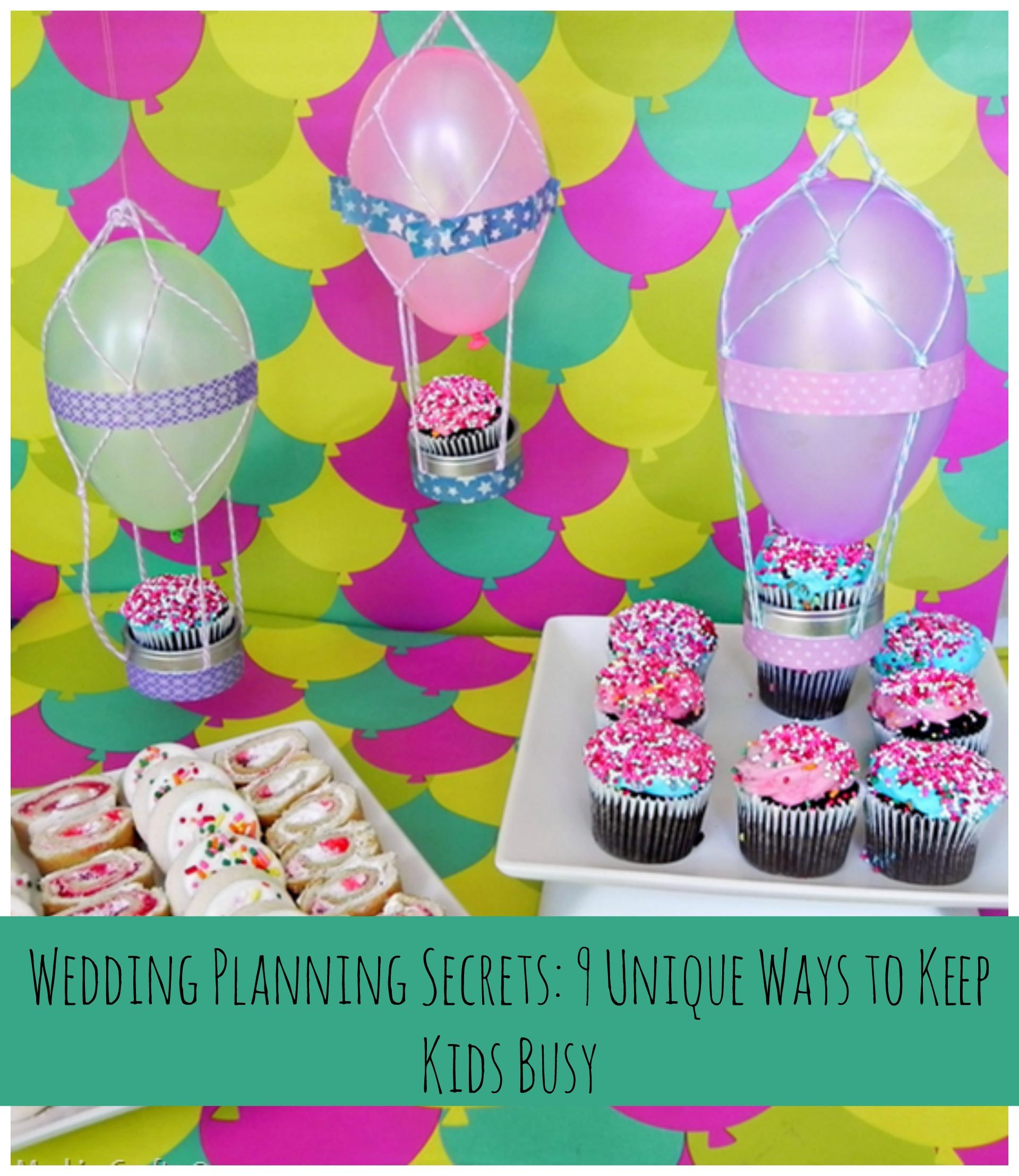 Wedding Ideas For Kids: Wedding Planning Tips: Kid-Friendly Wedding Ideas