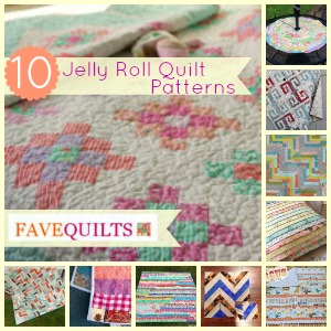 10 Jelly Roll Quilt Patterns