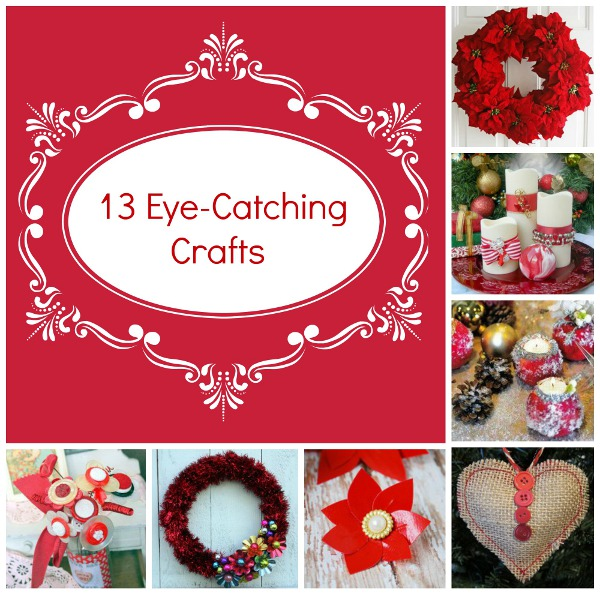 Let's Paint the Town Red: 13 Eye-Catching Crafts
