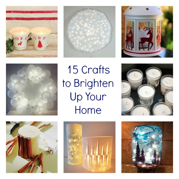 Get Your Glow On: 15 Crafts to Brighten Up Your Home
