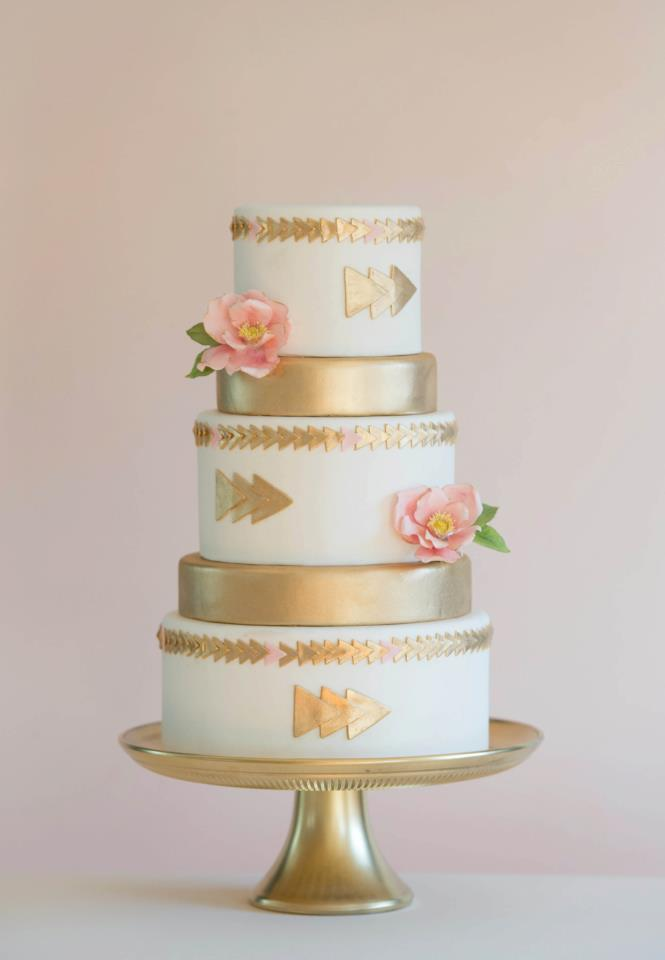13 pink and gold Wedding Trends: Opposites Attract