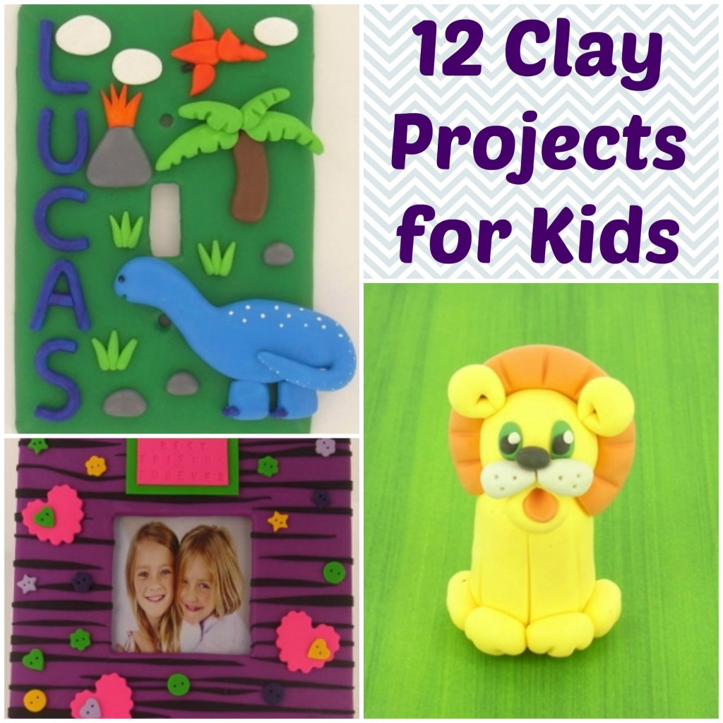 12 Clay Projects for Kids