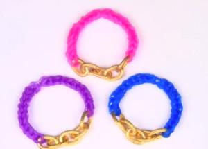 Grown Up Rainbow Loom Bracelet