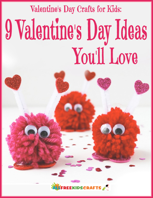 Candy free alternatives 9 valentine 39 s day ideas favecrafts for Crafts for valentines day ideas