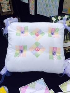 Ann Butler Stamped Pillow