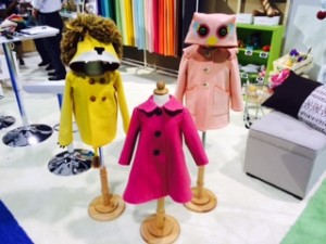 Barefoot Kids Coats 300x225 Craft Inspiration: Latest Trends in Sewing and Fabric from CHA 2014