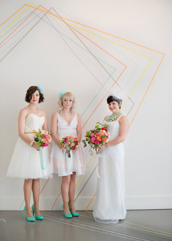 Geometric wedding inspiration 33 Wedding Trends: Opposites Attract